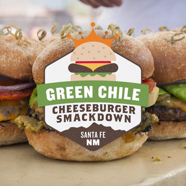 Green Chilé Cheeseburger Smackdown