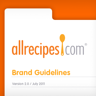 All Recipes Brand Book